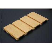 Slatwall da placa do PVC / WPC