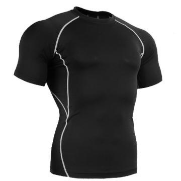 2014 Short Sleeve Sport Compression Wear Body Shaper for Men