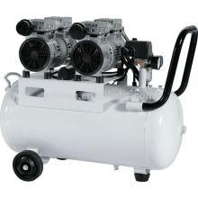 50L 1100W mute silent oil-free air compressor machine price