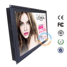 Monitor LCD de 23 polegadas de quadro aberto com entrada HDMI, DVI, VGA