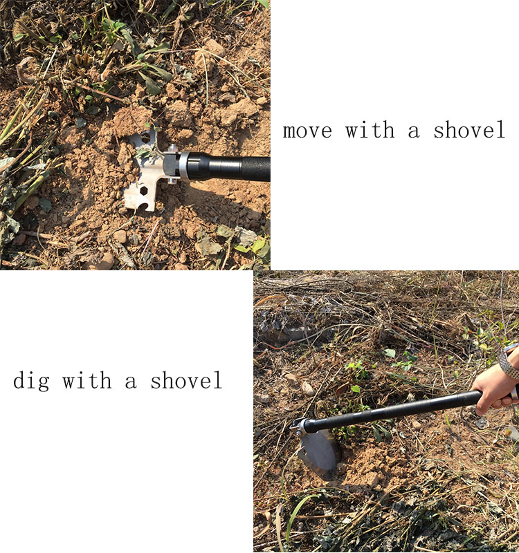 farm work shovel