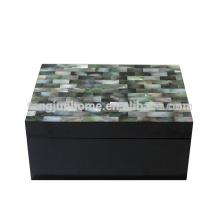 CBM-BPSBM Seashell Furniture Black Mother of Pearl Accessory Box