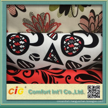 Fashion designs of flocked Pu Synthetic Leather