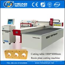 Máquina de água CE ISO máquina NEW condição Resina placa de máquina de corte