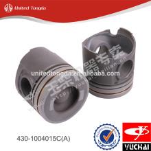 Pistão do motor yuchai original 430-1004015C (A) para yc6108-430