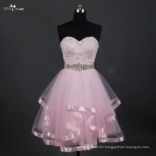 LZ168 Alibaba Sweetheart Short Wedding Dresses China Pink Dress