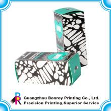 Caixa de embalagem de papel de arte para cílios