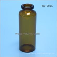 Flacon de verre standard 30ml ISO