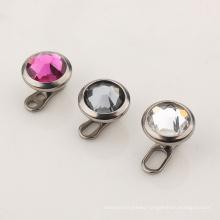 ASTM F136 Titanium Crystal Top Dermal Anchor  Body Piercing Jewelry