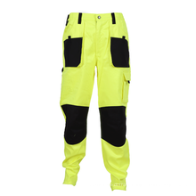 welding work wear pants with knee pad