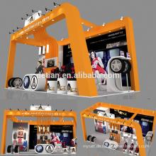 Detian bieten modulare Messestand Design portable Stand Expo