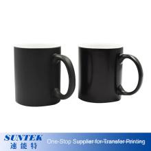 Hot Selling 11oz Custom Sublimation Magic Mug Coffee Mug Personalized Color Changing Mug