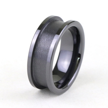 Custom Tungsten Carbide Ring Blanketter För Inlay