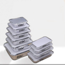 Food baking aluminum foil container for fast food
