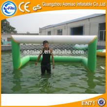 Jogos infláveis do esporte de água, objetivo inflável do polo de água para a venda