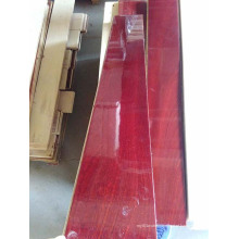 Pintura UV de madeira projetada Sapelli de 1860X189X15mm do revestimento