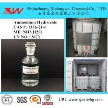 Especificação da solução de hidróxido de amônio