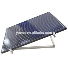 Sistemas fotovoltaicos ajustables del montaje del tejado del estante solar 20kw