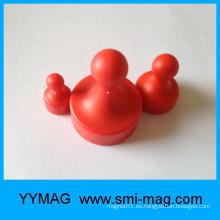 Tamaños de elección múltiple Pin magnético rojo