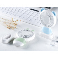 Mini Ventilador Recarregável Bateria KC Handheld Led Fan