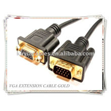 Câble d'extension VGA / SVGA Monitor pour moniteur, projecteur.