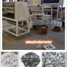Gold mining equipment, CE&ISO certification minerals/stone color sorting machine