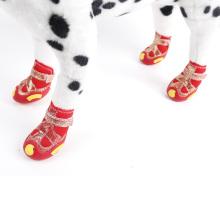 Venda quente impermeável antiderrapante inverno neve botas de estimação