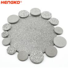 Stainless Steel Filter Discs Custom 0.2 5 7 40 50 70 90 Metal Filter Discs Sintered & Porous Stainless Steel Filter Disc
