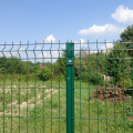 clôture en treillis métallique triangle bend
