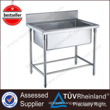 China Exporter Shinelong Free Standing Stainless Steel Kitchen Sink
