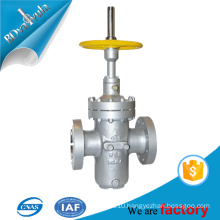 high pressure chain wheel steam gate valve made in china