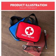 Trousse de premiers soins avec fournitures médicales de qualité hospitalière