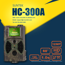 Caméra sauvage de jeu de chasse avec le flash HC300A noir invisible 940nm
