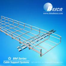 Bandejas de cable galvanizadas de la cesta de la malla de alambre - Cablofil o OEM