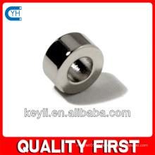 28,5 mm d'épaisseur x 10 mm d'épaisseur N35 Ndfeb Magnet - 57,38 kg Pull (Nord)
