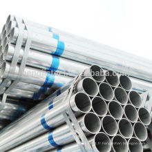 ERW tuyaux en acier galvanisé