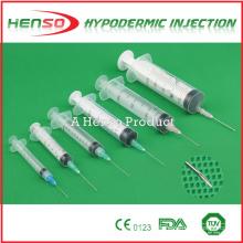 Seringas descartáveis (tipo Normal, Insulina, Alimentação, Segurança, Desativação Automática ou Vacina BCG)