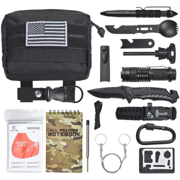 Tactical Emergency Gear Outdoor Camping Überlebenskit