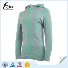 Women′s Seamless Lightweight Sport Yoga Jacket with Zipper