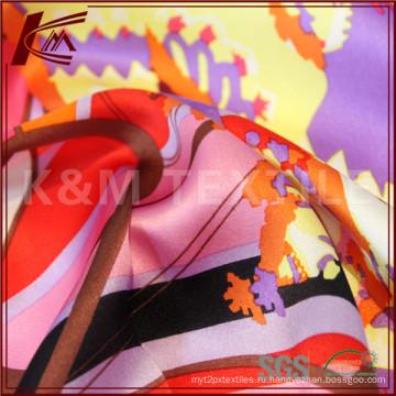 Природные шелка Habotai ткань для кожи шелк печатных шелковое платье цветочные ткани