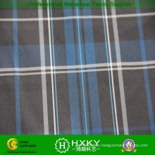 50d New Fashion Plaid Yarn Dyed Polyester Fabric