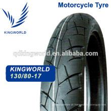 pneu sem câmara de ar de borracha de 130/80-17