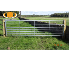 Australia market galvanized used steel pipe animal livestock cattle farm gate designs