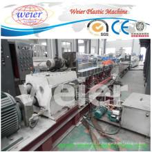 Máquina superior da peletização da costa do HDPE do ABS do PE dos PP dos desperdícios da venda