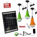Iluminación de emergencia portátil Solar, iluminación solar