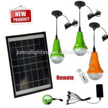 CE y patente pago solar LED hogar iluminación portátil (JR SL988A) vendible