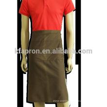 tablier en coton d'uniforme de chef