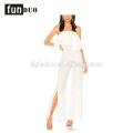 2018 mulheres brancas calças compridas soltas elegantes macacões 2018 mulheres brancas calças compridas macacões soltos elegantes