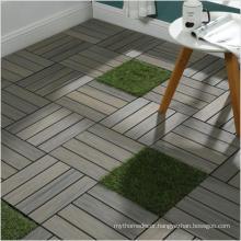 Low maintenance wpc decking flooring DIY 300X300mm flooring wood natural on sale