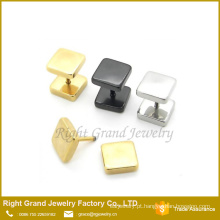 Mais recente Design 316L aço inoxidável prata ouro preto chapeado Fake plugues brincos